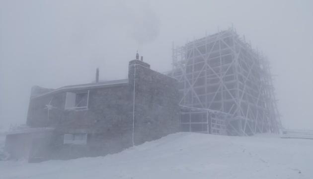 У засніжених Карпатах вдарив 10-градусний мороз