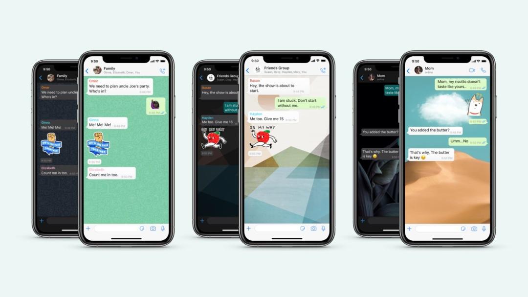 WhatsApp обновил мессенджер