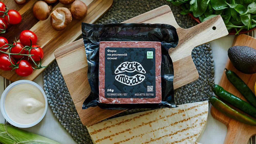 Вітчизняний стартап Eat Me AT виготовляє рослинне «м'ясо» у вигляді фаршу