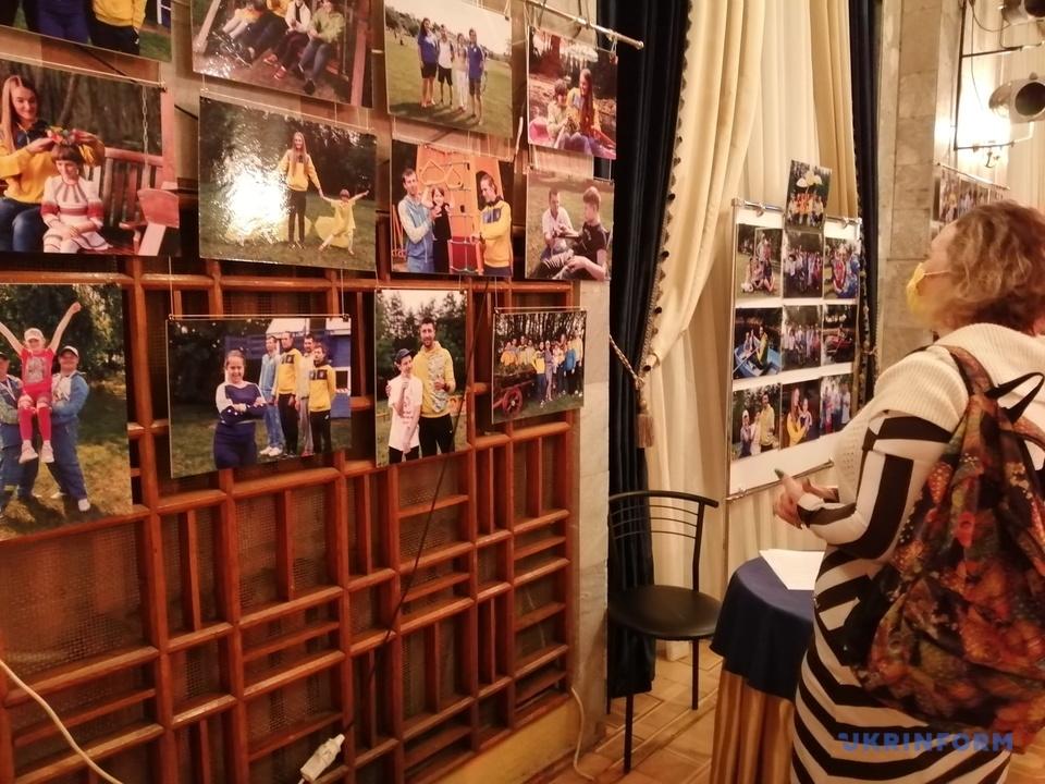 В Херсоне представили благотворительный фотопроект «Те, которые вдохновляют»