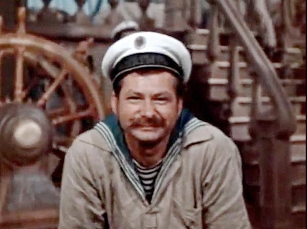 кадр із фільму Максимко, 1952 р.