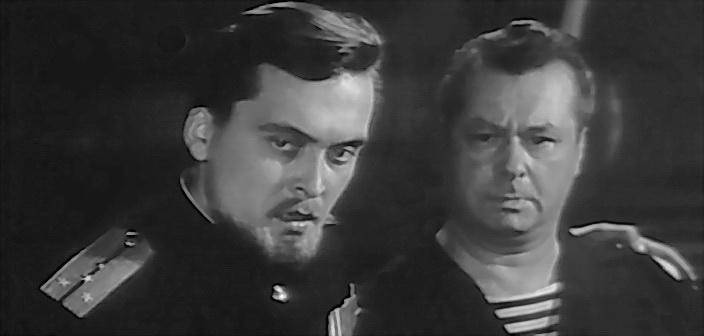 кадр із фільму Розвідники, 1968 р.