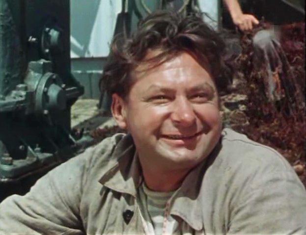 кадр із фільму Море кличе, 1956 р.