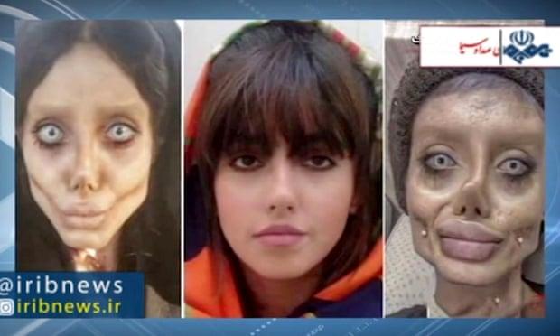 Иранскую звезду Инстаграму осудили на 10 лет за фото с жутким гримом