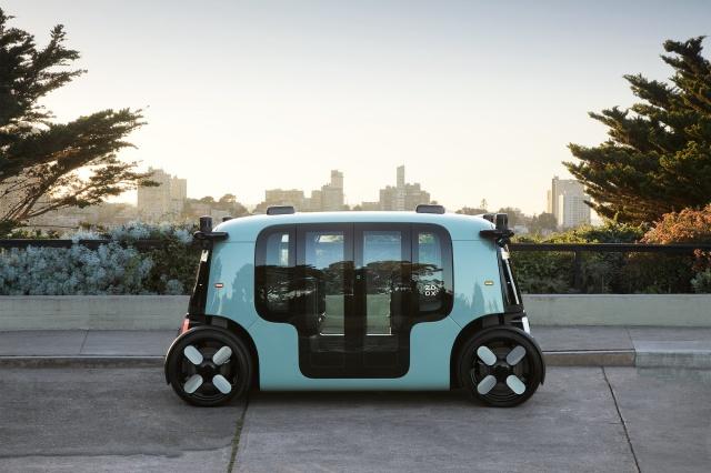 Amazon представила первое роботакси