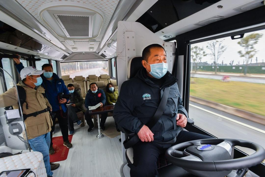 Китайский экопарк предложит туристам беспилотные шаттлы и вендинг-автоматы