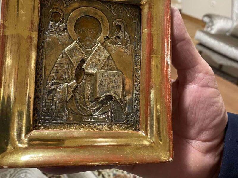 Украина направила ноту Боснии через старинную икону, подаренную Лаврову - СМИ