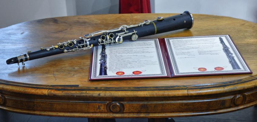 Закарпатском краеведческому музею передали старинный тарагот