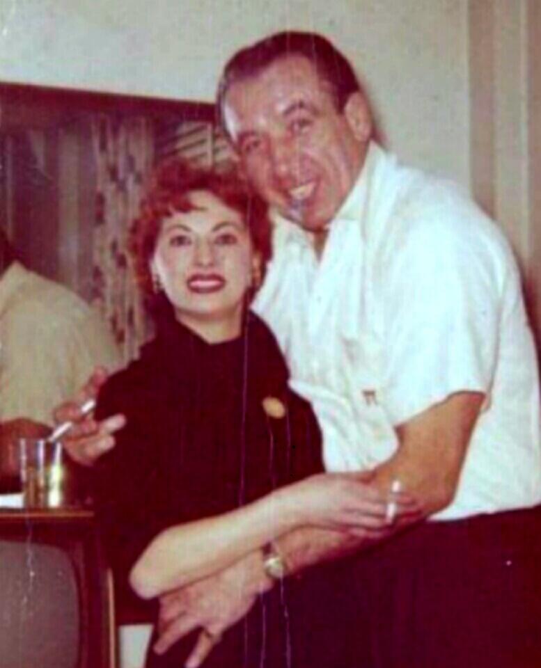 із другою дружиною Сільвію Вейнблатт