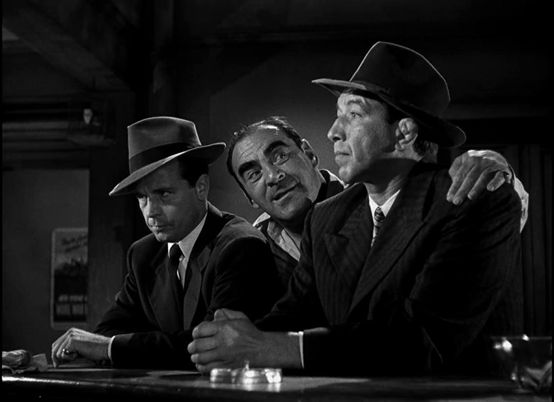 """Кадр зі стрічки """"Це вбивство, моя любо"""", 1944 р."""