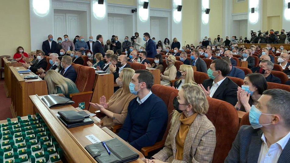 Перша сесія Харківської міської ради