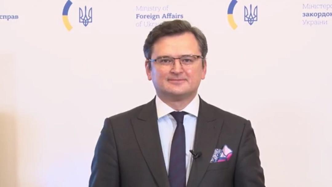 Брифінг міністра закордонних справ України Дмитра Кулеби