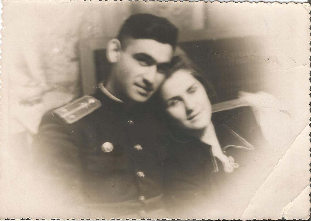 Фото 5 – подружжя, Георгій та Алла Кіроянц