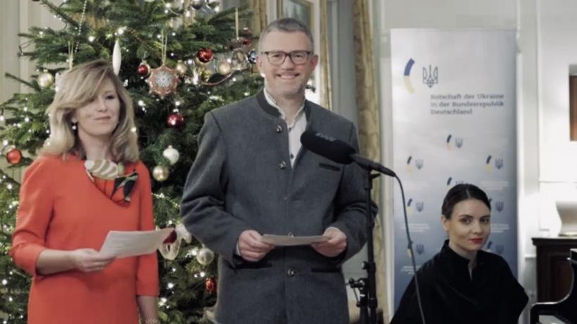 Посол Андрій Мельника та його дружина Світлана