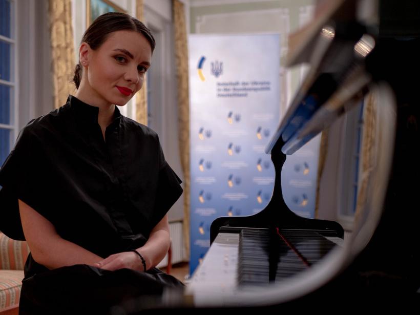 Українська піаністка Катерина Тітова