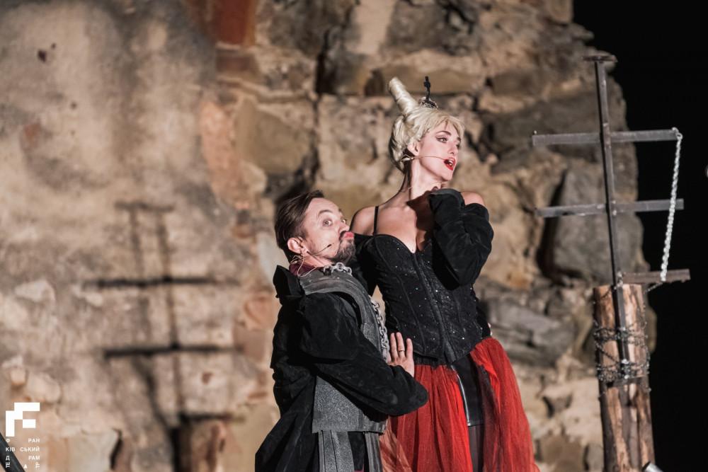 Вистава «Гамлет» / Фото: Франківський драмтеатр