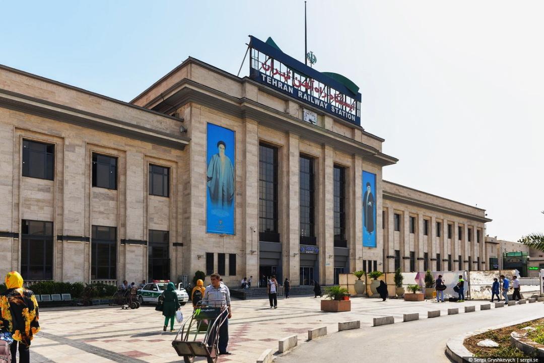 Залізничний вокзал у Тегерані