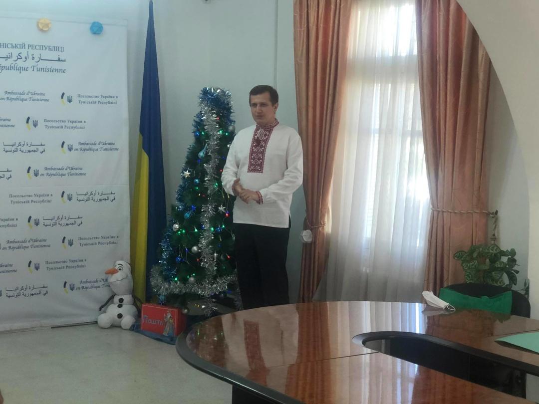 Посол України в Тунісі Володимир Хоманець