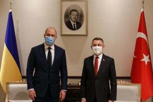 Шмигаль та віцепрезидент Туреччини обговорили спільні інвестиційні проєкти
