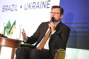 Verteidigungsdialog der Ukraine mit Brasilien eröffnet neue Möglichkeiten für Handel und Export - Kuleba