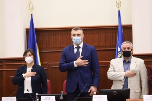 Vitali Klitschko als Bürgermeister von Kyjiw vereidigt