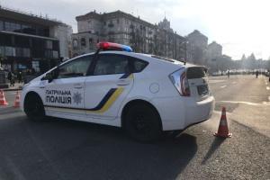 Из-за акции ФЛП полиция перекрывала Крещатик