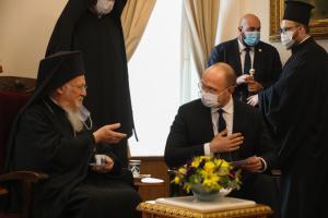 Шмыгаль встретился в Турции с патриархом Варфоломеем