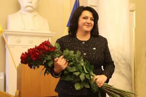 Председателем Львовского облсовета избрали Ирину Гримак