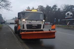 У Києві спецтехніка - «на старті» через погіршення погоди