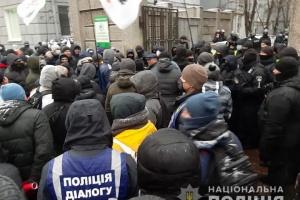 ФОПи не випускали депутатів із Ради - сталася штовханина з поліцією