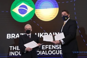 Ukraine, Brazil agree on cooperation in defense industry