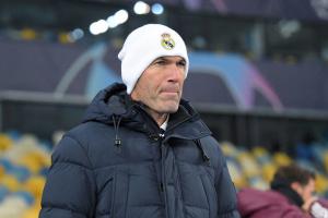 Зидан: «Реал» не заслуживал поражения, но мяч не шел в ворота «Шахтера»
