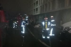 На столичному Подолі горіла багатоповерхівка: евакуювали десять осіб