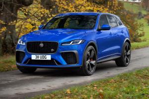 Jaguar представив новий хетчбек на 550 «коней»