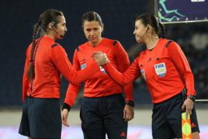 Украинская женская бригада арбитров рассудит матч Лиги Европы в Генте
