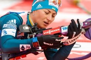 Біатлон: Валя Семеренко прийшла дев'ятою у спринті на Кубку світу