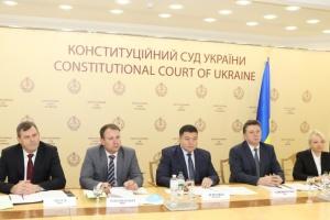 Судді КСУ провели зустріч з представниками Венеційської комісії
