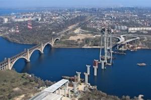 Запорізькі мости будуватиме найпотужніший кран у Європі - Укравтодор