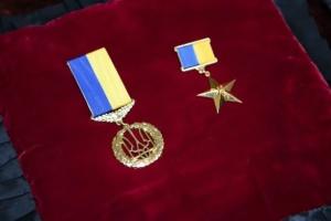 Зеленский присвоил звание Героя Украины погибшему бойцу «Айдара»