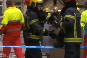 В Белграде у телецентра произошел взрыв, погиб человек