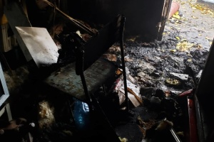 В Одессе сгорел магазин депутата горсовета от Партии Шария