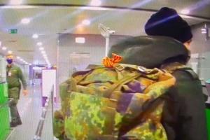 В Україну не пропустили іноземця з георгіївською стрічкою