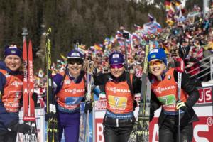 Санітра назвав склад України на жіночу  біатлонну естафету Кубка світу