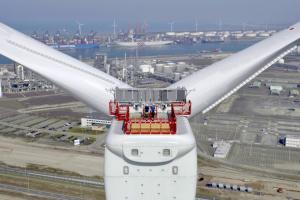 В США запустят самую мощную в мире ветровую турбину