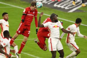 «Бавария» сыграла вничью с «РБ Лейпциг» в Бундеслиге