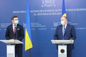 Warum besuchte Kuleba Moldawien, bevor Sandu offiziell Präsidentin wurde?