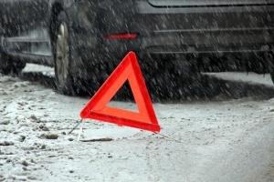 «Большой» снег: в Киеве с начала суток зафиксировали 67 ДТП