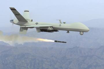 Luftabwehrübung: US-Kampfdrohne versucht, ukrainische Flugabwehr überwinden