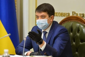 Razumkov signs law restoring criminal liability for false declaration of assets