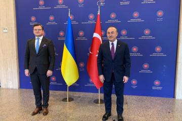 Türkischer Außenminister nimmt an Botschafterkonferenz in Kyjiw als Ehrengast teil
